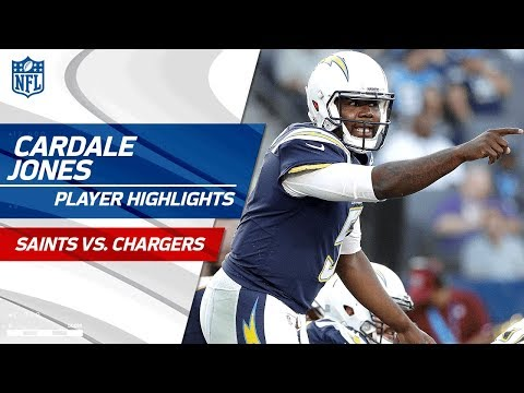 Every Cardale Jones Play Vs New Orleans Saints Vs Chargers