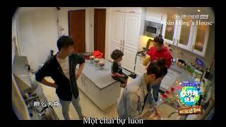 [Vietsub] Baby let me go mùa 3: Trần Học Đông cho Hào Hào uống nước cam
