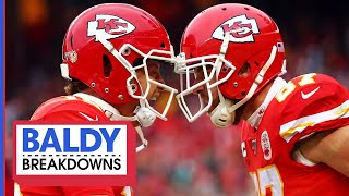 Breaking Down Mahomes' & Kelce's EPIC Divisional Comeback | Baldy Breakdowns
