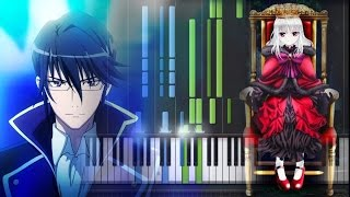 K: Missing Kings (アニメ「K」) OST - New Kings (Piano Synthesia Tutorial + Sheet)