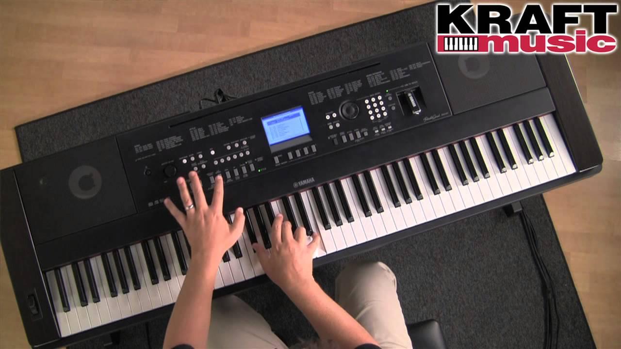 Kraft music yamaha dgx 650 portable grand digital piano for Yamaha 650 piano