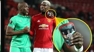 Pogba faced his brother Emotional Europa League HD