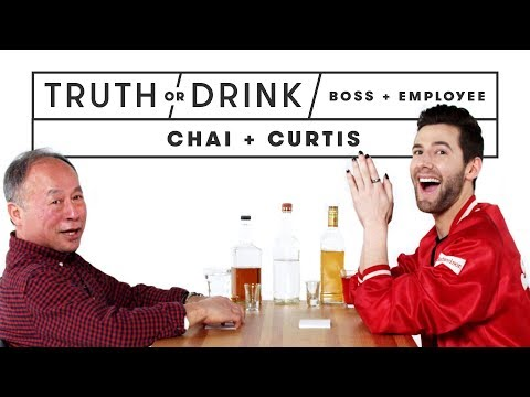 My Boss & I Play Truth or Drink (Chai & Curtis) | Truth or Drink | Cut