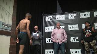 Kings Promotions weigh in April 5, 2018