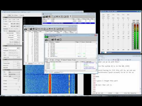 SDRSharp Rev 329 + EzTV666 RTL2832U, Working with Unitrunker