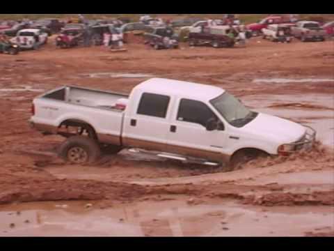 Ford Mudding 4x4 Ford F250 4x4 on Mud