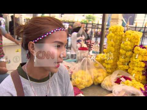 THAILAND: TOURISM SUFFERING FROM PROTESTS