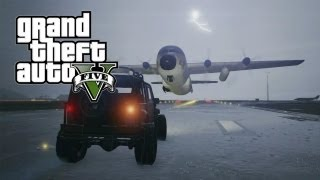 """GTA 5"" - ""TITAN MILITARY PLANE"" - Titan Military Plane FULL GAMEPLAY (""AREA 51 TITAN PLANE"")"