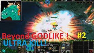 DotA 6.83d - Morphling Beyond GODLIKE ! #2 (ULTRA KILL)