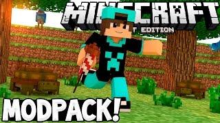 MEU MODPACK  DE AVENTURA PARA MCPE 0.15.6 !! Minecraft PE 0.15.6 Pack De Mod
