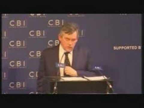 Gordon Brown New World Order Speech