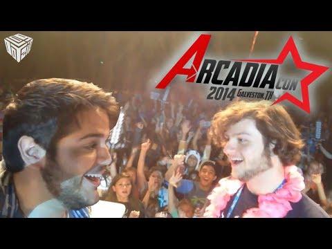 ArcadiaCon 2014 - HAPPY BIRTHDAY JASON! (vLogdotzip: ArcadiaCon Pt 1)