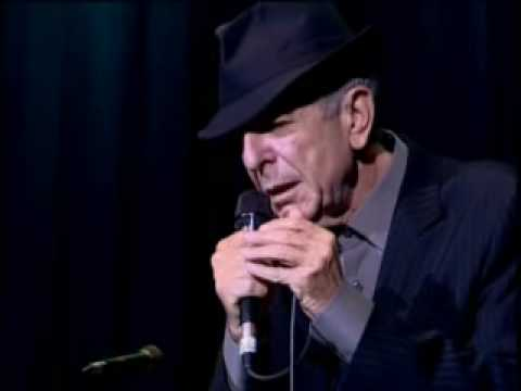 Leonard cohen bird on a wire youtube for Leonard cohen music videos
