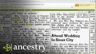 Finding the Maiden Names of Women in Your Family Tree | Ancestry
