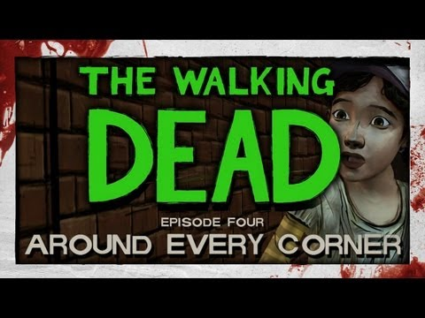 The Walking Dead: Episode 4 - Part 1 - Around Every Corner [Lets Play / Playthrough]