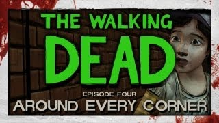 The Walking Dead_ Episode 4 - Part 1 - Around Every Corner [Lets Play / Playthrough]
