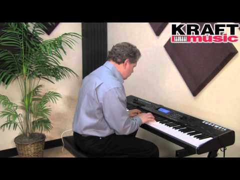 Kraft Music - Kurzweil PC3K8 Demo with Chris Martirano