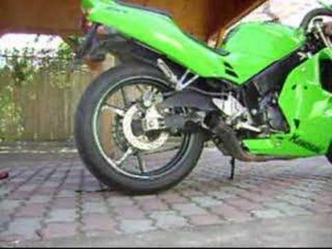 Kawasaki ZXR 250 91' sound