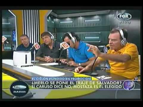 FOX SPORTS RADIO - Pelea Vignolo, Latorre y Proietto (en vivo)