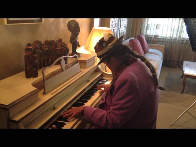 Dr. John Plays Louis Armstrong's Piano!