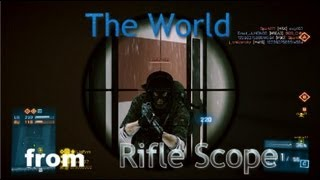 【BF3実況】The World from Rifle Scope #2 Ziba Tower