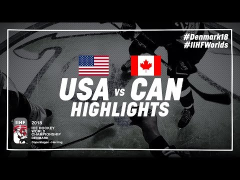 Game Highlights: United States vs Canada May 4 2018 | #IIHFWorlds 2018