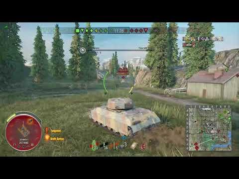 World of Tanks Xbox one T14 9 Kills ( In less than 4 mins )