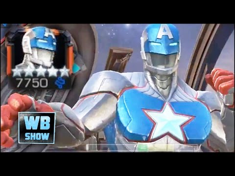 Marvel: Contest of Champions - CIVIL WARRIOR (Captain America + Iron Man Fusion) Review!