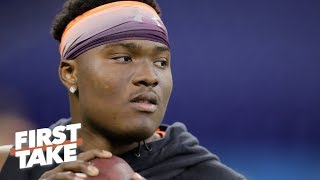 2019 NFL Draft: Can the Giants afford to pass on Dwayne Haskins? | First Take