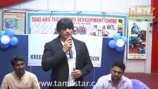 Prashanth Opening In Kreeda Corporate Table Tennis Tournament
