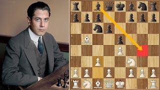 Chess That 39 S Simple Capablanca Vs Frank Marshall Game 6