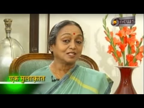 Manoj Tibrewal Aakash Interviewed Meira Kumar for DD News's Ek Mulaqat (Full Interview)
