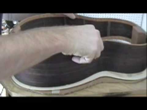 Guitar Building - Luthiercast - Episode 8 - Part 1