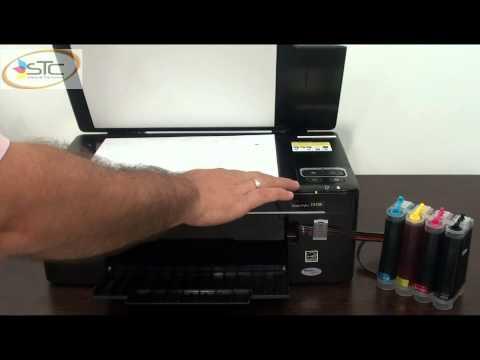 Multifuncional Epson TX135 Con Sistema de Tinta Continua STC