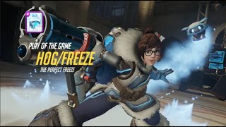 OVERWATCH PLAY OF THE GAME PARODY : MEI / GEL (CLASH ROYALE)