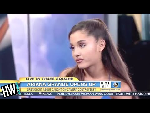 Ariana Grande Apologizes AGAIN For Licking Donuts & Teases New Music!