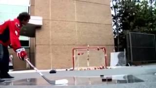 NHL Crazy Trick Shots And Stick Skills