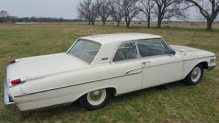 1962 Mercury Monterey S-55 406/405HP Tri-Power 4-Speed Barn Find Muscle Car