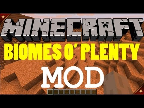 Minecraft Mods - Biomes O' Plenty Mod! Review/Download