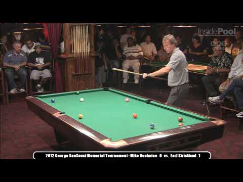 Earl Strickland vs. Mike Dechaine Ginky Memorial Finals 2012 Amsterdam Billiard Club NYC