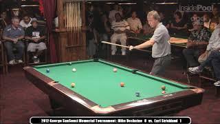Earl Strickland vs. Mike Dechaine Ginky Memorial Finals 2012 Amsterdam Billiard Club NYC
