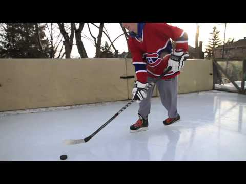 Custom Ice Rink - The Beaver Den