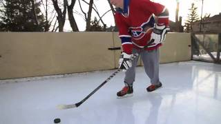 Custom Ice Rink - The Beaver Den