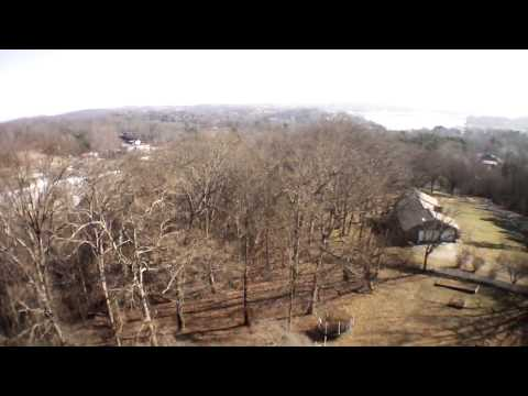 High Over Dandridge, TN - AR.Drone 2.0 Video: 2013/12/27