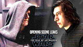 INSANE The Rise Of Skywalker Opening Scene Leaks! (Star Wars Episode 9 Spoilers)