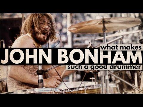 What Makes John Bonham Such a Good Drummer?