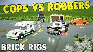 MULTIPLAYER COPS VS ROBBERS CHALLENGE! - Brick Rigs Multiplayer Gameplay Challenge