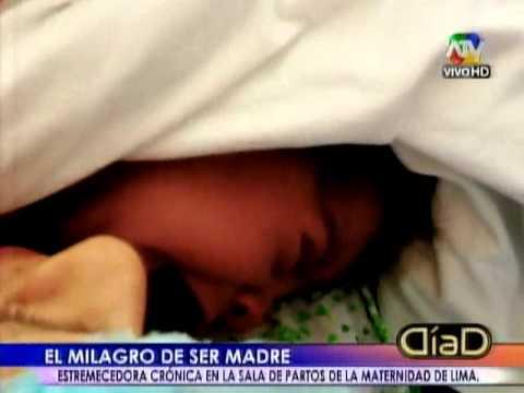 Feliz día Mamá: Las historias en las salas de partos de la Maternidad de Lima