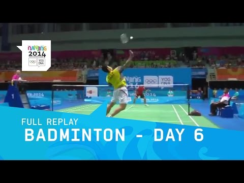 Badminton -  Men women Single Mixed Doubles Finals | Full Replay | Nanjing 2013 Youth Olympic Games video