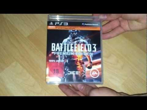 Battlefield 3 Premium Edition PS3 Unboxing (German)